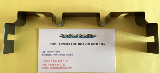 Custom Steel Rule Die